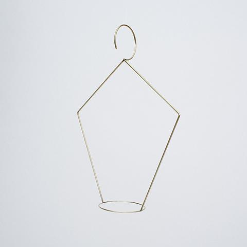 plant hanger-copper